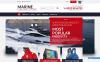 Reszponzív Marine Online Store Shopify sablon New Screenshots BIG