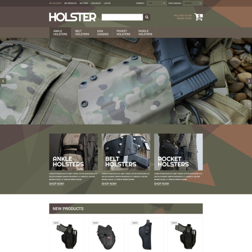 Holster - Magento Template based on Bootstrap
