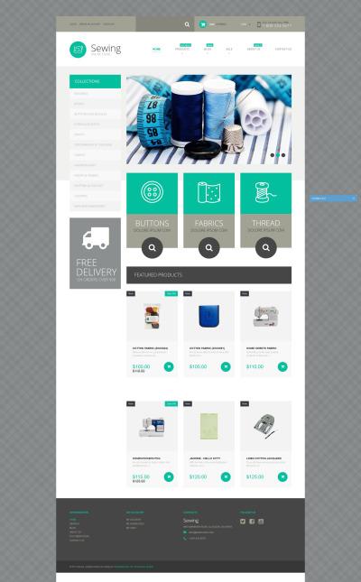 Responsive Tema Shopify #52596 para Sitio de  para Sitio de Artesanías