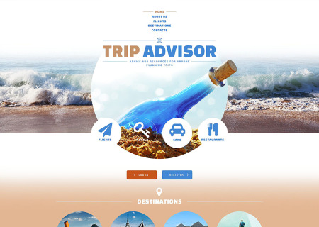 Travel Guide Responsive