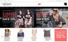 """""""Vêtements féminins grande taille"""" thème Magento adaptatif New Screenshots BIG"""