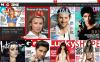 """VirtueMart šablona """"Magazines Store"""" New Screenshots BIG"""