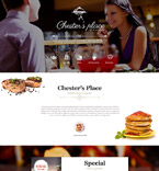 Cafe & Restaurant Muse  Template 52601