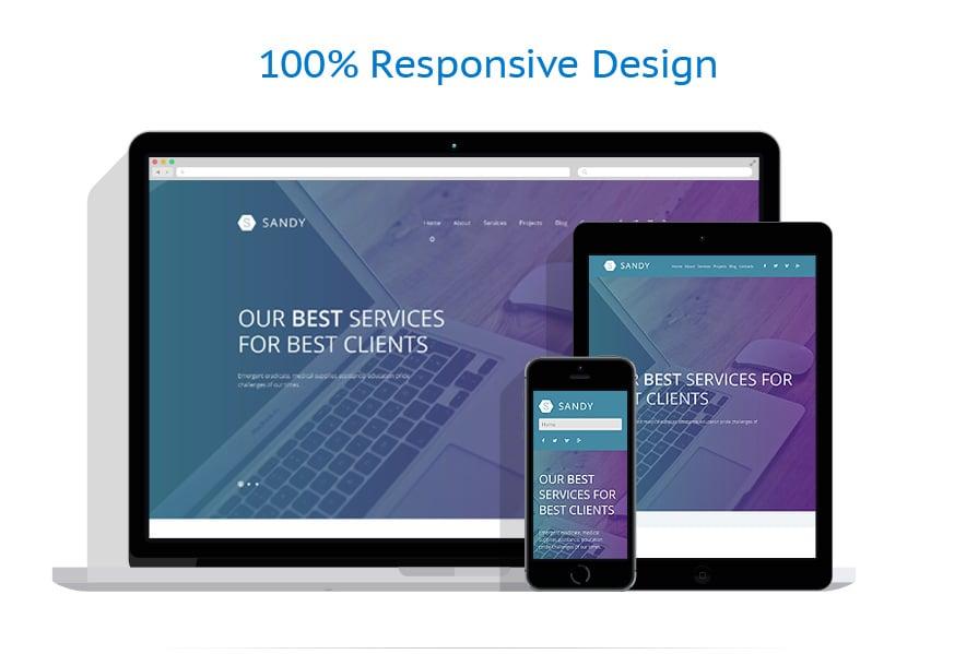 Thèmes WordPress Web design #52603