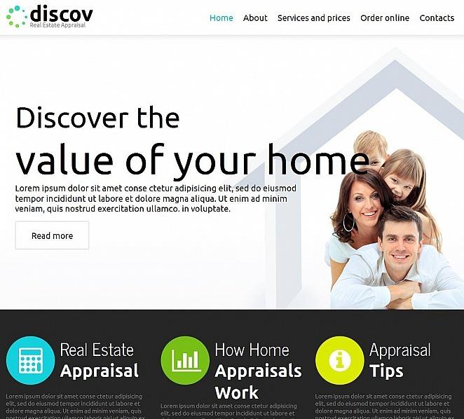 Moto CMS HTML Vorlage für Immobilienagentur  New Screenshots BIG
