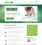Science Moto CMS HTML  Template 52609