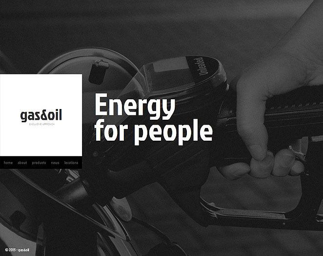 Premium Moto CMS HTML Template over Gas & Olie  New Screenshots BIG