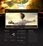 Religious Moto CMS HTML  Template 52615