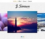 Art & Photography Moto CMS HTML  Template 52619