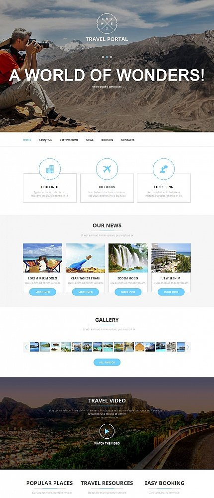 ADOBE Photoshop Template 52622 Home Page Screenshot
