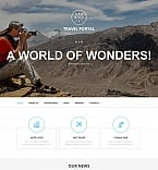 Travel Moto CMS HTML  Template 52622