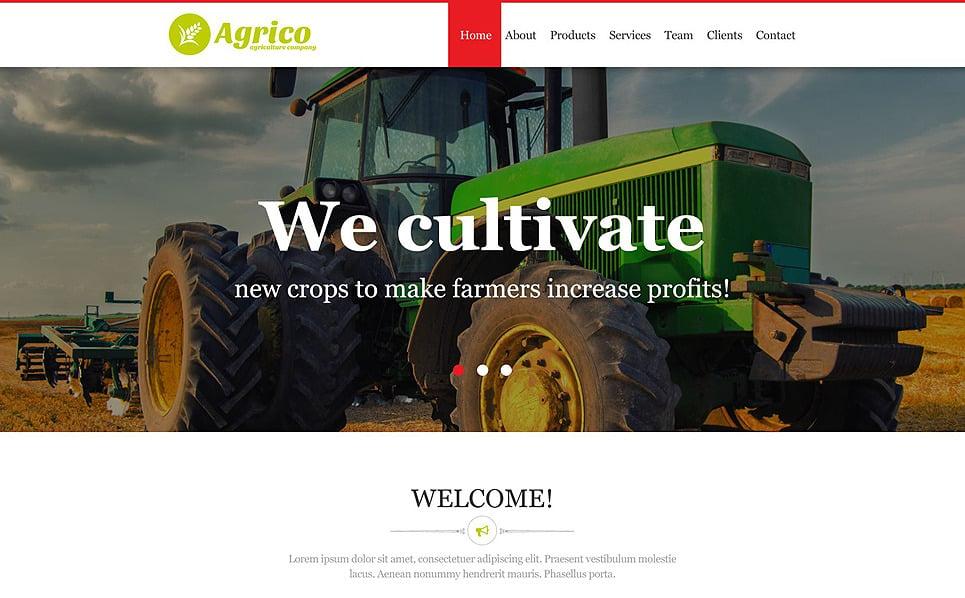 Muse Template für Landwirtschaft  New Screenshots BIG