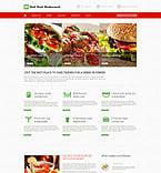 Cafe & Restaurant WordPress Template 52640