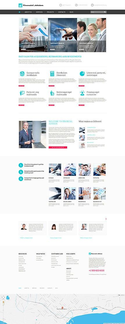 WordPress Theme/Template 52641 Main Page Screenshot