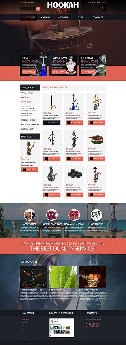 ADOBE Photoshop Template 52646 Home Page Screenshot