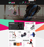 Sport WooCommerce Template 52647