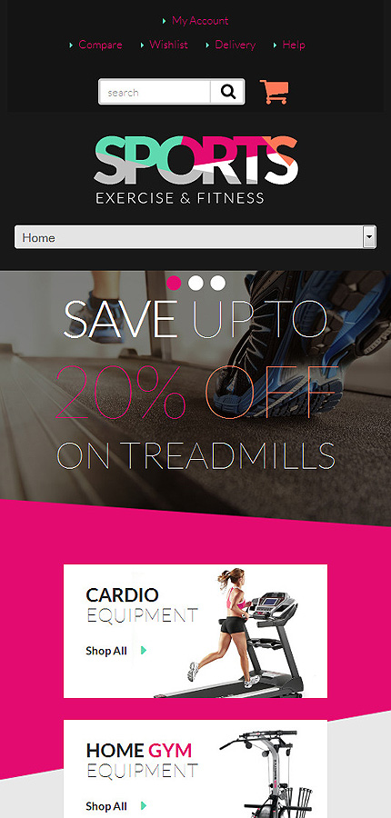 ADOBE Photoshop Template 52647 Home Page Screenshot