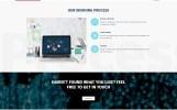 """Website Vorlage namens """"Kostenlose responsive Vorlage für eine Designagentur"""""""