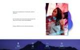 """Free Responsive Design Agency Template"" Responsive Website template"