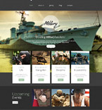 Military Website  Template 52651
