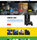 Games WordPress Template 52656