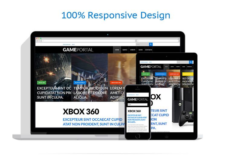 Video Games WordPress Theme