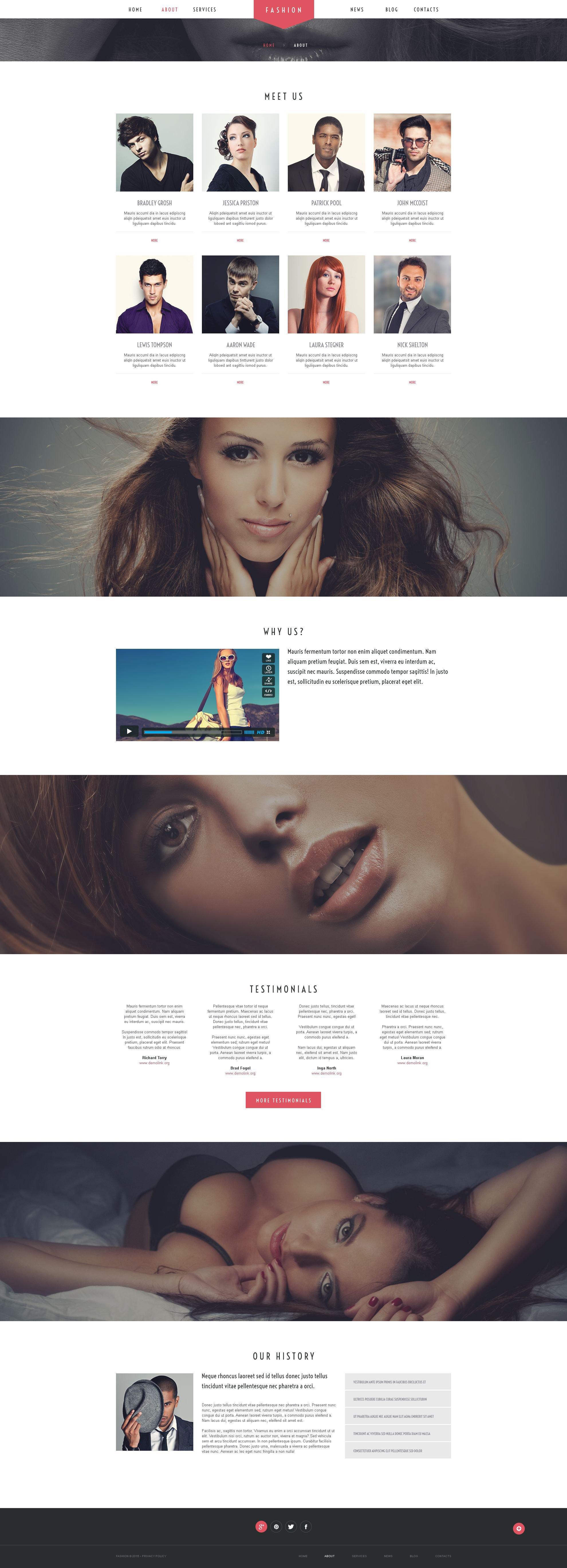 Chantalle - Multipurpose Woman Fashion WordPress Elementor Theme WordPress Theme