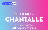 Responsivt Chantalle - Multipurpose Woman Fashion Elementor WordPress-tema