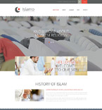 Religious Website  Template 52661