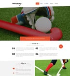 Sport Website  Template 52665