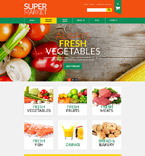 Food & Drink VirtueMart  Template 52667