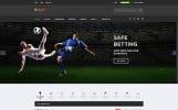 Responsivt S-Bet - Online Betting Multipage HTML Hemsidemall