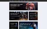 "Template Siti Web Responsive #52669 ""S-Bet - Online Betting Multipage HTML"""