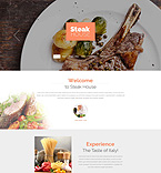 Cafe & Restaurant Drupal  Template 52671