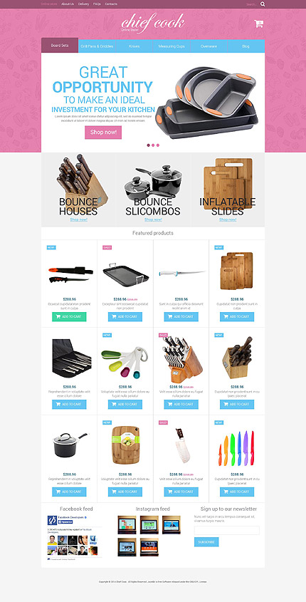 ADOBE Photoshop Template 52677 Home Page Screenshot
