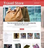 Travel osCommerce  Template 52678