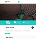 Sport Website  Template 52681