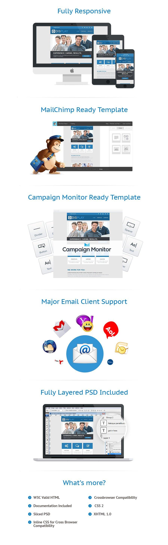 Modèles Newsletter Web design #52682