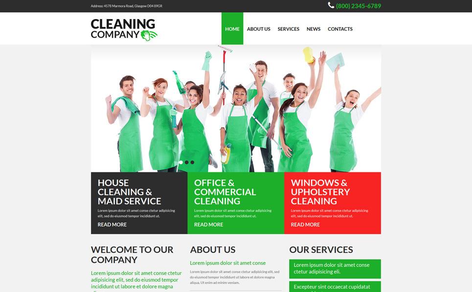 Responsywny szablon Joomla #52683 na temat: czyszczenie New Screenshots BIG
