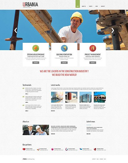 Drupal Template 52688 Main Page Screenshot
