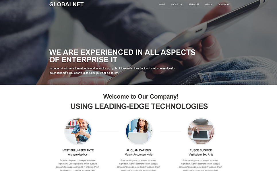 Muse Template over ISP  New Screenshots BIG