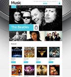 Music OpenCart  Template 52694