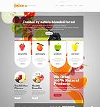 Food & Drink WordPress Template 52695