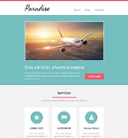 Travel Newsletter  Template 52696