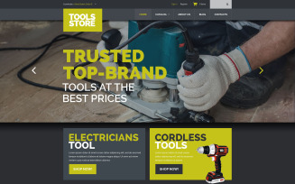 Tools Equipment VirtueMart Template