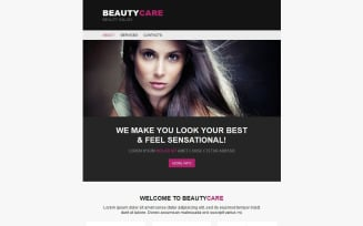 Beauty Salon Newsletter Template