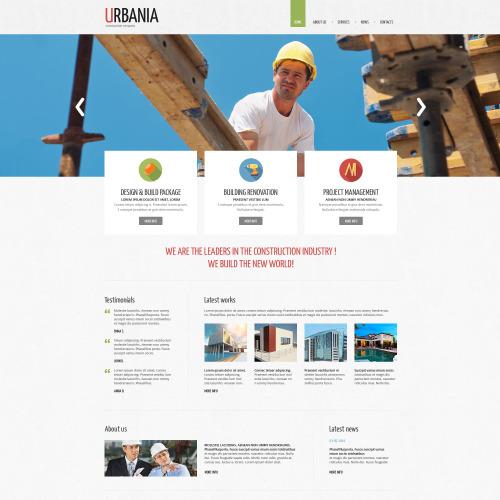 Urbania - Responsive Drupal Template