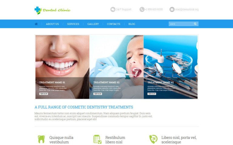 Dental Clinic WordPress Theme