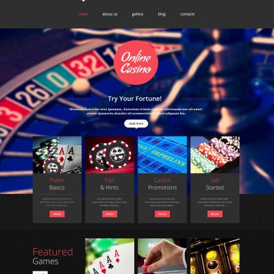 Готовые сайты интернет казино