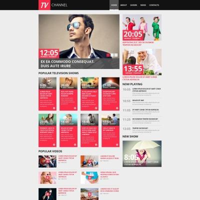 TV Channel Moto CMS HTML šablona